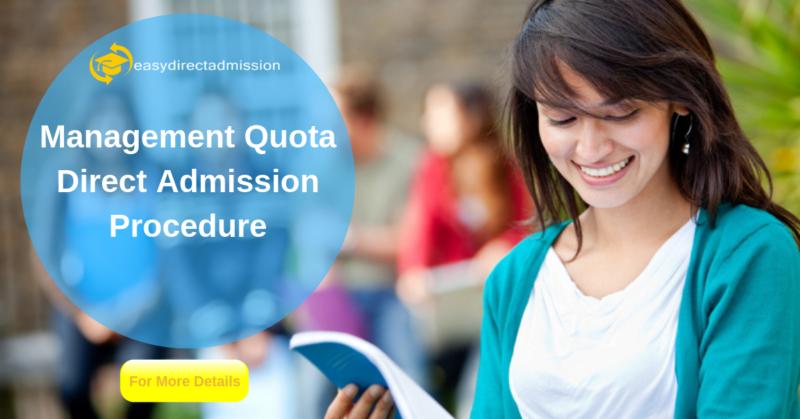 Direct admission through management quota
